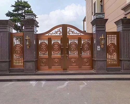 仁怀铜门工程案例