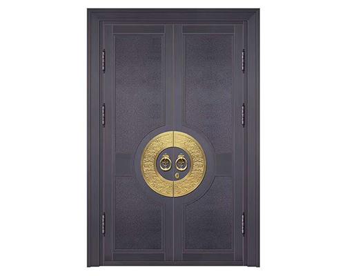 铜仁新中式铜门案例