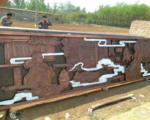 贵州铜壁画