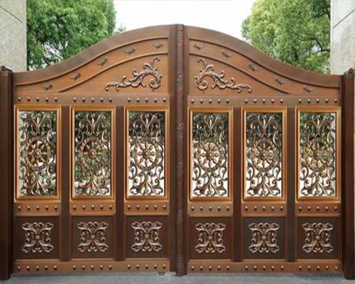 六盘水庭院铜门
