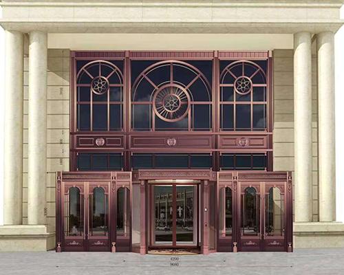 贵阳酒店铜门